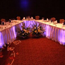 Colorado Event Productions – Table Highlight and Illumination Lighting Effects