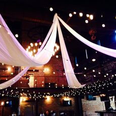 Colorado Event Productions – Bistro Strand Globe Lighting