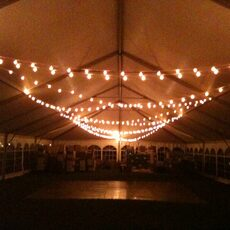 Colorado Event Productions Tent Lighting