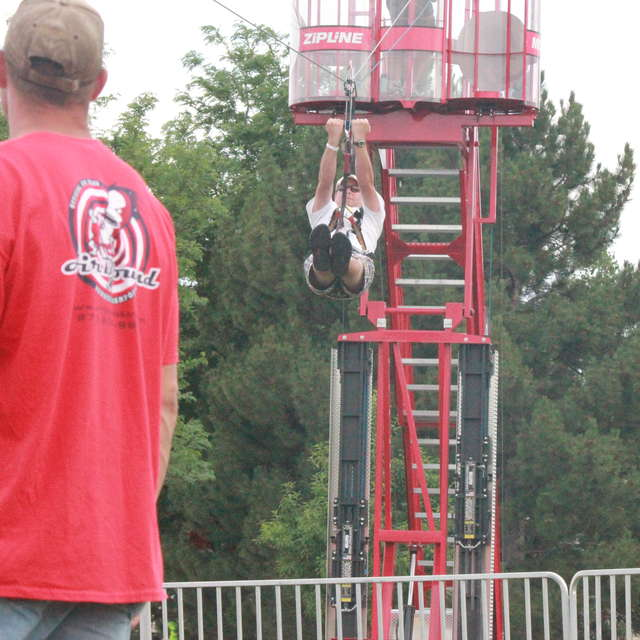 Airbound Mobile Zip Line