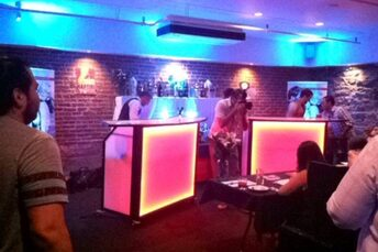 Colorado Event Productions –  LED Wet Bars