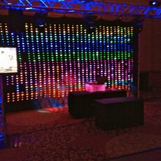 Colorado Event Productions – LED Fabric, LED Curtains, LED Backdrop, Color Changing Sparkle Drape