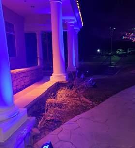 outdoor lighting colorado event
